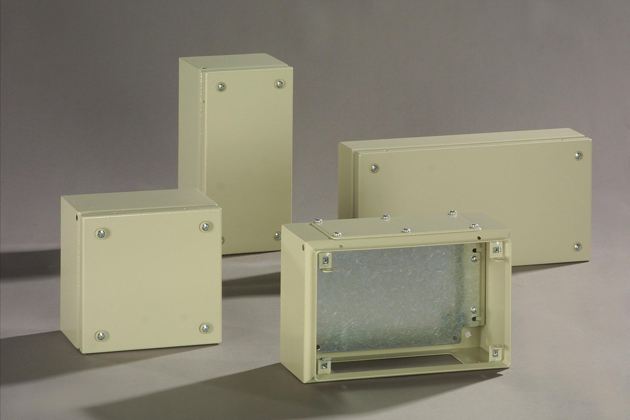 Ce Sdf Mild Steel Terminal Boxes With Gland Plates Ce Tek